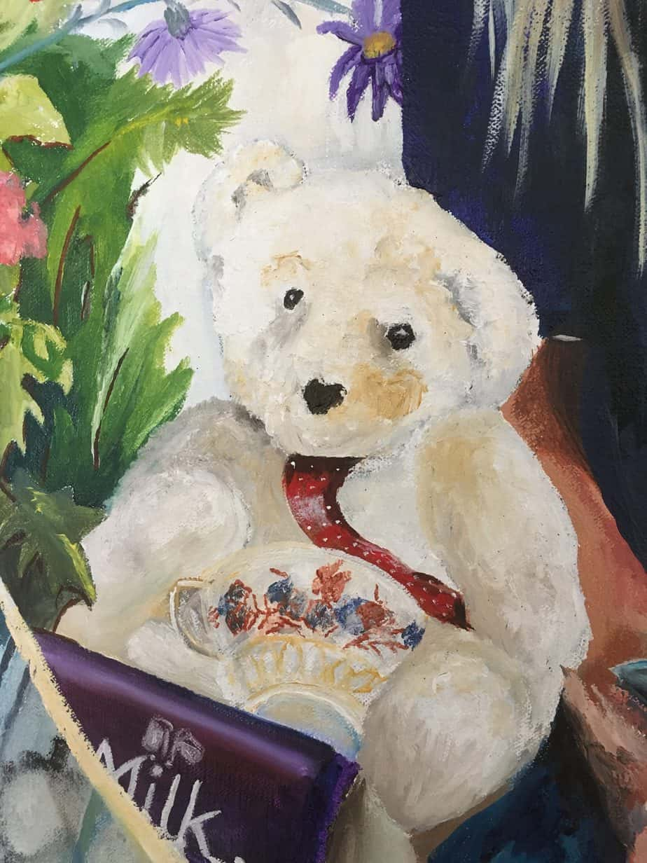 Teddy - detail from Lizzie